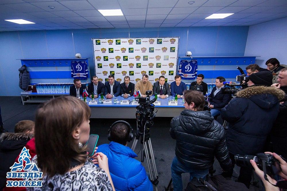 Звезды отечественного хоккея в Барнауле [4 февраля 2017г., ЛДС «Динамо