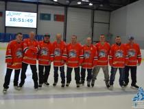 Награждение призеров соревнований г.Барнаула по хоккею.