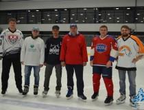 Награждение призеров соревнований г.Барнаула по хоккею