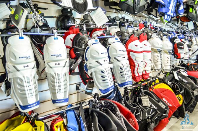 Магазин хоккейной экипировки в «Карандин-Арене»