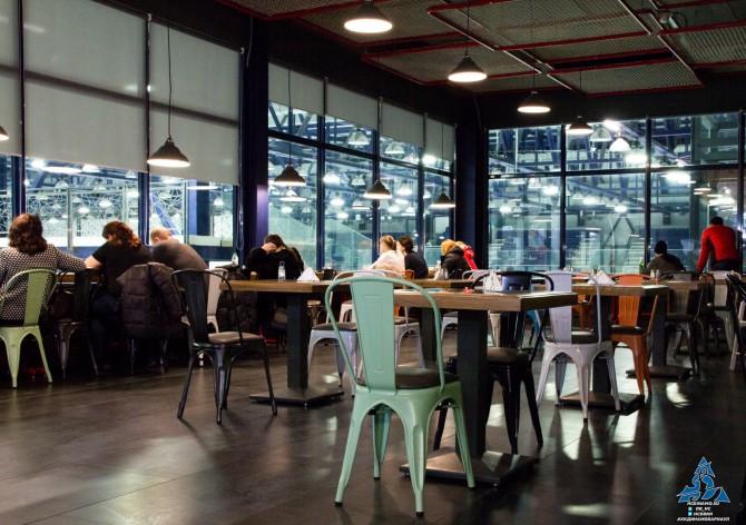 Кафе здорового питания в Карандин-Арене