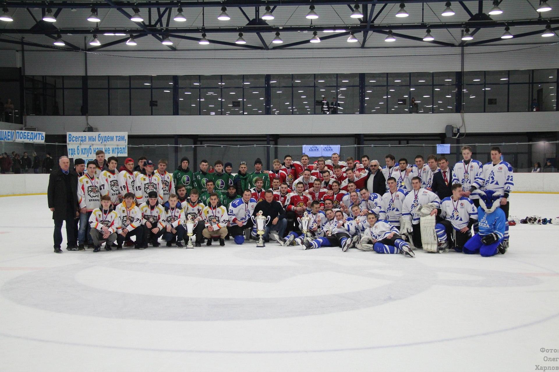 Финал ССХЛ 2017/18 в Барнауле. Фото: Олег Харлов
