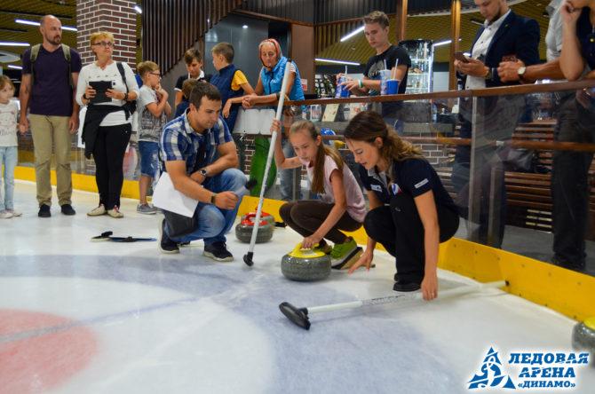 Трехкратная участница Олимпийских игр Екатерина Галкина в Барнауле