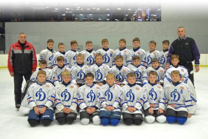 Команда «Динамо-Алтай 2006» (тренер Сергей Харченко)