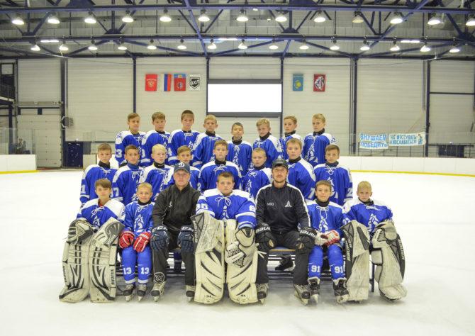 Команда «Динамо-Алтай 2008» (тренер Олег Масленников)