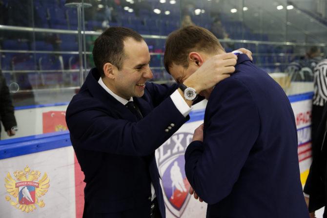 Награжение победителей Матча Звёзд Студенческой хоккейной лиги - 2019 в г.Тамбов