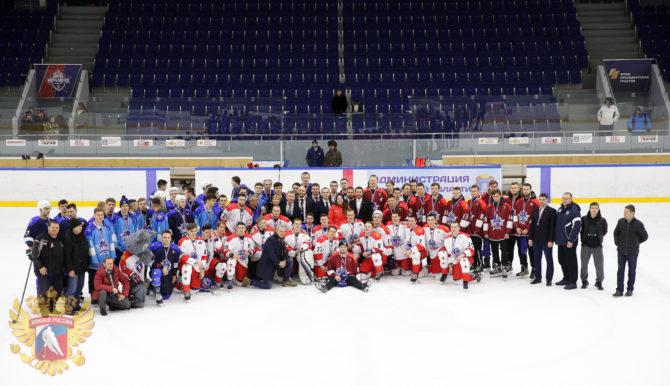 Участники Матча Звёзд Студенческой хоккейной лиги - 2019 в г.Тамбов