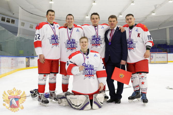 Барнаульцы на Матче Звёзд Студенческой хоккейной лиги - 2019. г.Тамбов