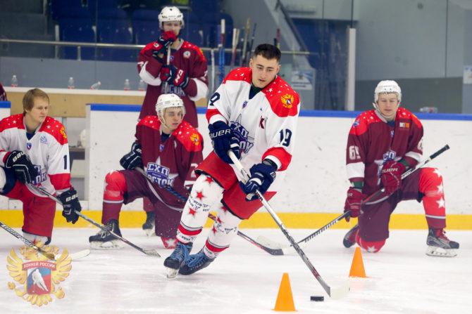 Матч Звёзд Студенческой хоккейной лиги. г.Тамбов