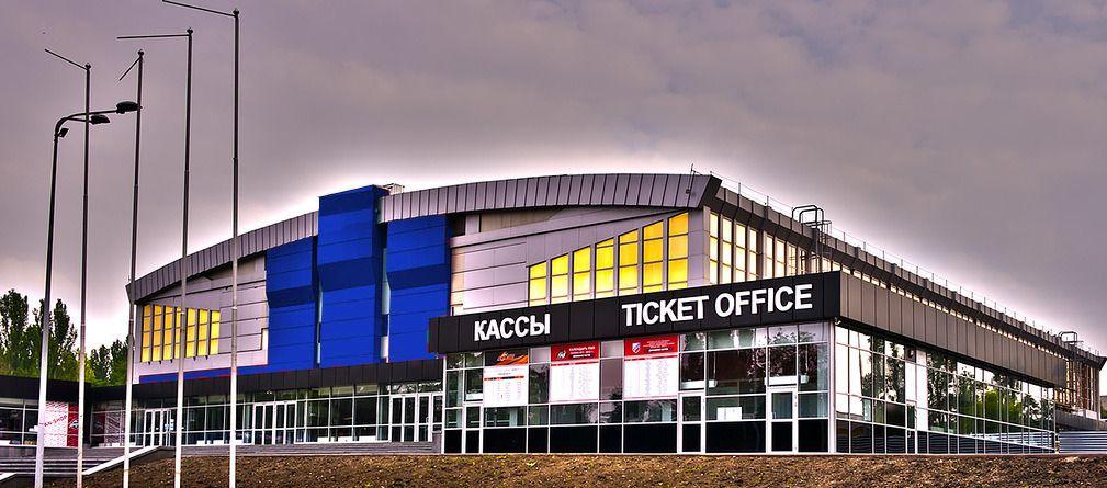 Дворец спорта «Дружба»спортивно-концертный комплекс Донецка (Украина). Вместимость 4130 зрителей. Домашняя арена украинских команд — хоккейного клуба «Донбасс» и баскетбольного клуба «Донецк».